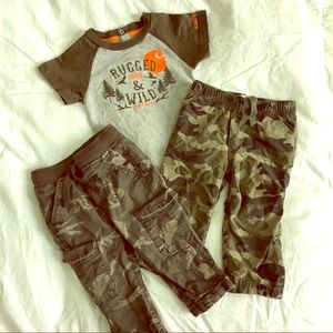Other - Boys Camouflage Outfit Bundle